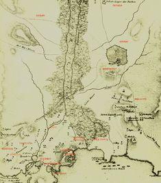 Χάρτης Πολιορκίας Ακρόπολης 1827.