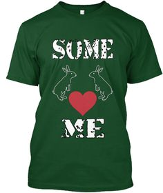 Some Love Me Deep Forest T-Shirt Front