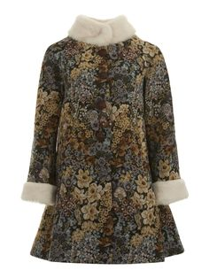 B & B Mariella Tapestry Coat 0