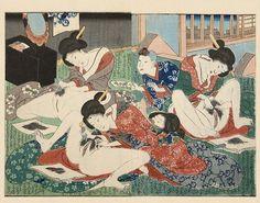 [un membre de l'école Utagawa] source