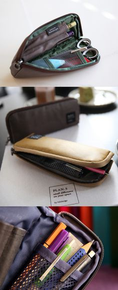 Zip Up Pen Pocket