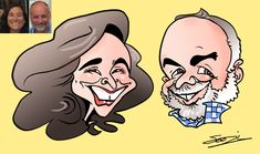 Caricature Gift Commission Caricature Gifts, Caricature From Photo, Kent London, London Wedding, Pen And Paper, Trade Show, Corporate Events, First Love, Product Launch