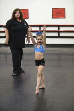 Abby Lee Miller and Mackenzie