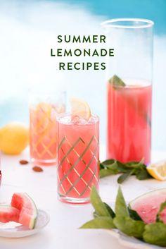 summer lemonade recipes