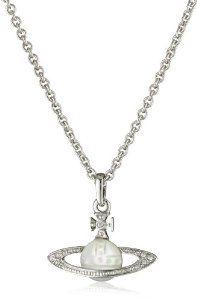 Vivienne Westwood Cabochon Orb Pendant Necklace