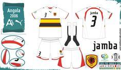 Angola- Away Jersey (2006)