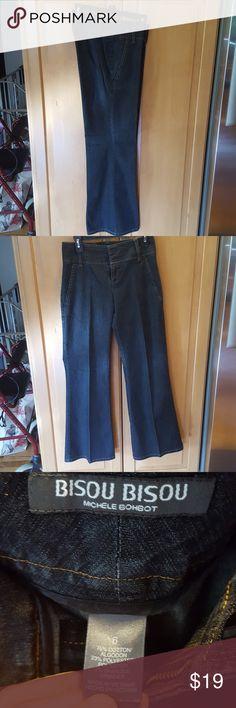 Bisou Bisou vintage wide leg jeans Bisou Bisou vintage wide leg jeans Bisou Bisou Jeans Flare & Wide Leg
