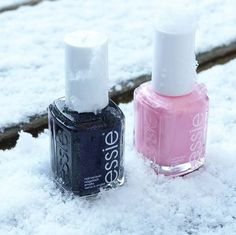 Baby it's cold outside -- warm up with essie's winter collection.