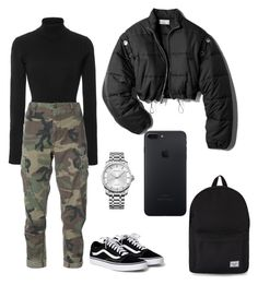 """""""polyvore"""" by jesy-smith on Polyvore featuring Khaite, RE/DONE, 3.1 Phillip Lim, Herschel Supply Co. and Calvin Klein"""