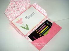 Gift/Card and Envelope Tutorial