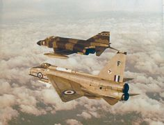 29Sqn Royal Air Force 1974 Transition from Lightning to Phantom