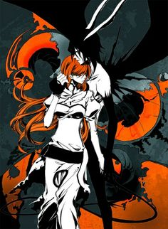 Browse BLEACH Orihime Inoue Ulquiorra Cifer collected by Nina Bree and make your own Anime album. Ulquiorra And Orihime, Ichigo Y Orihime, Bleach Fanart, Bleach Manga, I Love Anime, Awesome Anime, Manga Anime, Anime Art, Bleach Couples