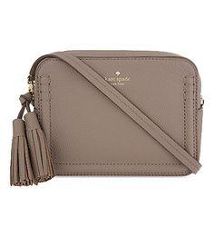 KATE SPADE Orchard Street Leather Arla Cross-Body Bag. #katespade #bags #shoulder bags #leather
