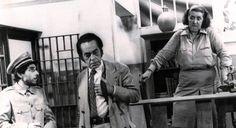 "Augusto Olimpio, Paulo Gracindo e Zilka Salaberry, ""O Bem Amado"" (1973)"