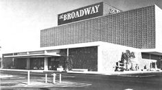 The Broadway department store was at Stearns and Belflower, Long Beach, CA Whittier California, Bakersfield California, Upland California, Long Beach California, Southern California, California Pictures, Vintage California, Old Pictures, Old Photos