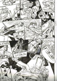 Nathan Fox Comic Art