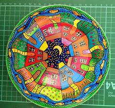 Handpainted Street Plate. One off design. £15.00