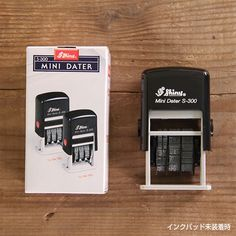 Midori Shiny TF S-300 Mini Dater Self-inking Stamp. by niconecozakkaya on Etsy