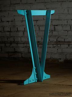 Welded Furniture, Loft Furniture, Steel Furniture, Funky Furniture, Contemporary Furniture, Furniture Design, Industrial Bench, Industrial Style Furniture, Metal Sculpture Wall Art