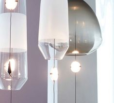 LIMPID PENDANT LIGHTS by VANTOT Light Colors, Colours, Pendant Lights, Hand Blown Glass, Glass Shades, Diffuser, Sconces, Wall Lights, Bright