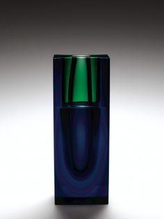 Color Vase, vessel by Frantisek Vizner (1936-2011) Center for Artistic Craft