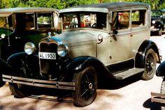 1930 Ford Model A 55B Tudor Sedan Vintage Cars, Antique Cars, Sedans, Ford Motor Company, Ford Models, Storyboard, Tudor, Planes, Trains