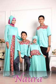 Blouse Batik, Batik Dress, Batik Fashion, Hijab Fashion, Little Girl Dresses, Girls Dresses, Batik Couple, Muslim Dress, Girl Hijab