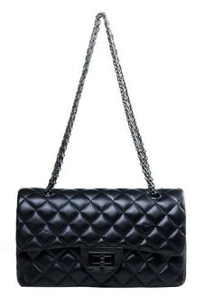 FILICIA FLAP BAG LAMBSKIN BLACK $115.00 - would love to win this bag
