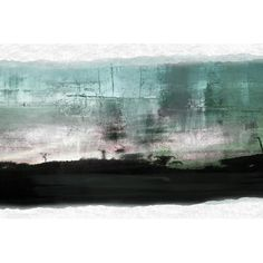 Found it at Wayfair - Abstract Landscape Painting Print on Wrapped Canvas
