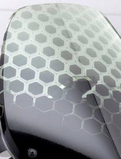 Details we like / Honeycomp / pattern / Yamaha 3d Pattern, Honeycomb Pattern, Surface Pattern, Surface Design, Pattern Design, 3d Texture, Texture Design, Textures Patterns, Print Patterns