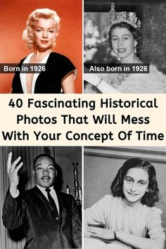 """When we typically think about historical events, many people put them into categories of """"very old"""" or """"modern-day."""" It is easier for everyone to understand the perception of time that way. However, some historical facts that people consider ancient history didn't happen that long ago, and in fact, they overlap with events that took place in what people think of as the modern era. Prepare for your mind to be blown. Red Lip Makeup, Eyeshadow Makeup, Discreet Tattoos, Eye Makeup Designs, Plastic Bottle Crafts, Cruise Outfits, Chic Nails, Boyfriend Goals, Pretty Cats"""