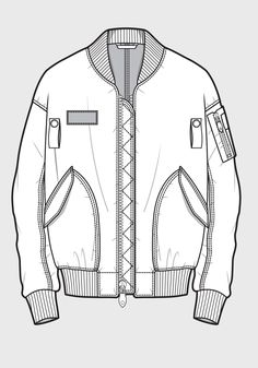 Fashion Design Drawing Great example of a technical drawing for fashion done well. Fashion Sketch Template, Fashion Design Template, Pattern Fashion, Clothing Templates, Clothing Sketches, Dress Sketches, Clothes Draw, Drawing Clothes, Flat Drawings