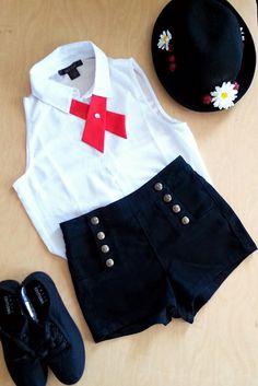 Mary Poppins Disneybound costume
