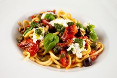 Pasta With Homemade Ricotta & Oven Roasted Tomatoes – Italian Food Forever