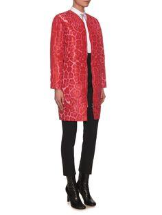 Elegantine leopard-print coat   Moncler Gamme Rouge   MATCHESFASHION.COM