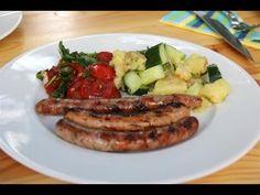 Bratwurst Deutsche Grillmeisterschaft 2013 vom Grill - Disturbed Cooking Ep. 97 Bratwurst Recipes, German Sausage, Pop Up Restaurant, Sausages, Menu Planning, Original Recipe, Meat, Cooking, Food