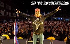 In honor of today's NFL #SuperBowlLII. Check out this photo from when football fanatic Bret Michaels and the Bret Michaels Band (B*M*B) rocked a record breaking crowd for #SuperBowl XLVI festivities in Indianapolis. – Team Bret ☠️ #SBLII #SuperBowlSunday https://t.co/rQauNErYww