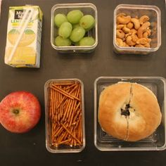 The Glamorous Housewife: Real Kid's Lunch Ideas. No fancy bento box tricks, just real lunch ideas.