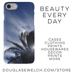 "Get these ""Wintery Sky"" iPhone cases and much more!  http://www.redbubble.com/people/douglasewelch/works/14935655-palm-springs-winter-sky?asc=u  http://welchwrite.com/blog/2016/11/18/get-these-wintery-sky-iphone-cases-and-much-more/#sthash.Bz7G5sUz.dpuf  #iphone #cases #clothing #bags #arts #crafts #sky #clouds #palmtrees #sun #photography"