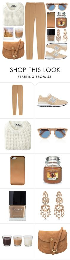 """""""Sem título #634"""" by andreiasilva07 ❤ liked on Polyvore featuring mode, Sandro, New Balance, Acne Studios, Cutler and Gross, Yankee Candle, Butter London, Allurez en John Lewis"""