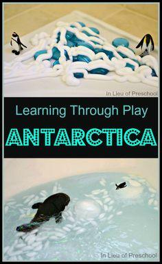 Antarctica small world play