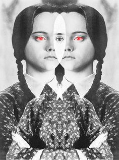 Wednesday Addams - Halloween muse