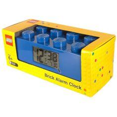 LEGO Wecker  blau  http://www.meinspielzeug24.de/lego-wecker-blau  #Unisex #Uhren/Wecker