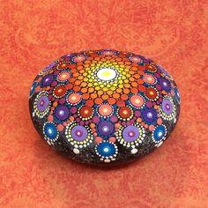 Mandala Stone Large by KimberlyVallee on Etsy
