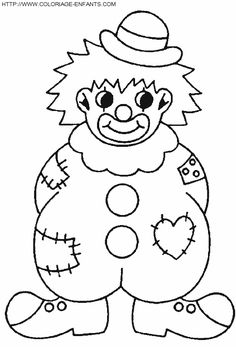 Best Coloring: Sad clown clip art coloring pages - Amazing Coloring sheets - Clown Crafts, Circus Crafts, Carnival Crafts, Free Printable Coloring Pages, Free Coloring Pages, Coloring Sheets, Coloring Books, Fish Coloring Page, Coloring Pages For Kids