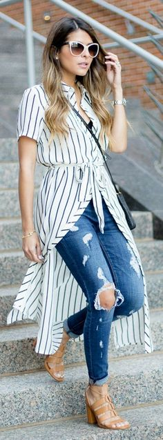 Breezy Shirtdress Outfit Idea by The Girl From Panama
