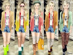the sims 3 cc outfits