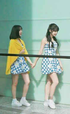 Jung Eunbi (Eunha) & Jung Yerin (Yerin) of GFriend