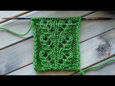"Openwork Knitting Pattern ""Tropics"" in mirroring Baby Knitting Patterns, Knitting Stitches, Baby Patterns, Stitch Patterns, Crochet Pattern, Diy Scarf, Lace Scarf, Crochet Hooded Scarf, Crochet Hats"