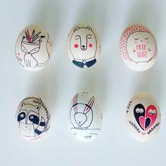 Animal easter eggs